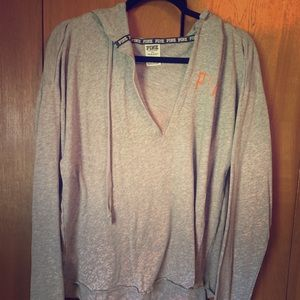 Victoria's Secret Detroit Tigers V Neck Sweater